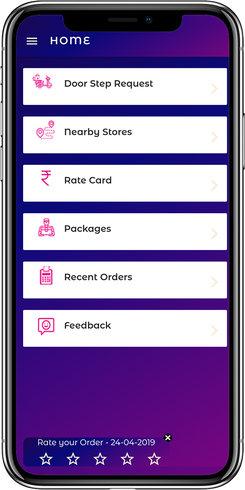 Mobile app to build customer loyalty